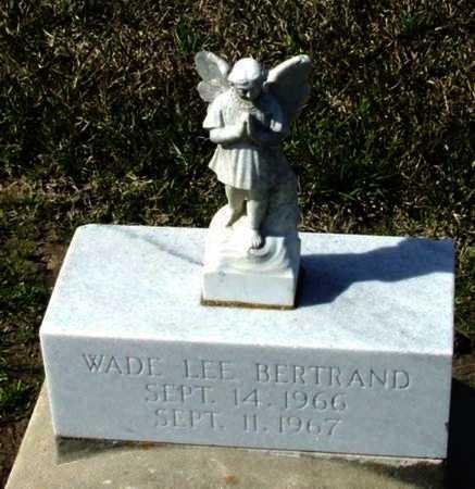 BERTRAND, WADE LEE - Vermilion County, Louisiana | WADE LEE BERTRAND - Louisiana Gravestone Photos