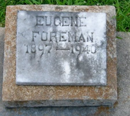 "FOREMAN, EUGENE, SR  ""JAKE"" - Vermilion County, Louisiana 