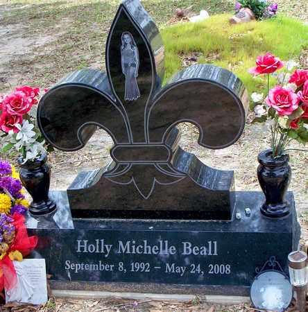 BEALL, HOLLY MICHELLE - Vernon County, Louisiana | HOLLY MICHELLE BEALL - Louisiana Gravestone Photos