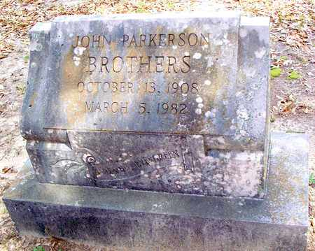 BROTHERS, JOHN PARKERSON - Vernon County, Louisiana   JOHN PARKERSON BROTHERS - Louisiana Gravestone Photos