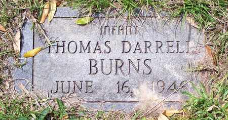 BURNS, THOMAS DARRELL - Vernon County, Louisiana | THOMAS DARRELL BURNS - Louisiana Gravestone Photos