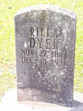 DYER, RILLA - Vernon County, Louisiana   RILLA DYER - Louisiana Gravestone Photos