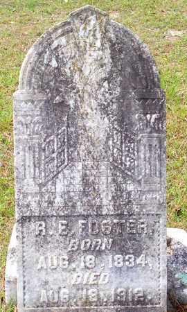 FOSTER, R E (VETERAN CSA) - Vernon County, Louisiana   R E (VETERAN CSA) FOSTER - Louisiana Gravestone Photos