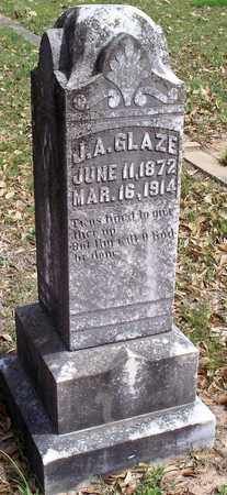 GLAZE, J A - Vernon County, Louisiana | J A GLAZE - Louisiana Gravestone Photos