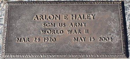 HALEY, ARLON E (VETERAN WWII) - Vernon County, Louisiana | ARLON E (VETERAN WWII) HALEY - Louisiana Gravestone Photos