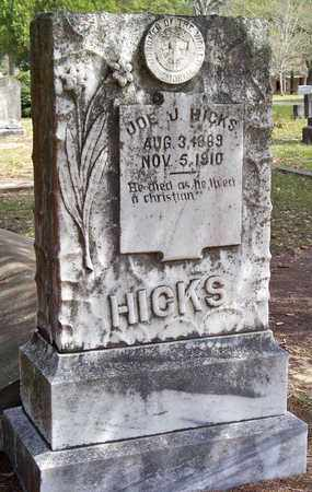 HICKS, JOE J - Vernon County, Louisiana | JOE J HICKS - Louisiana Gravestone Photos