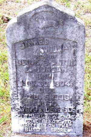 JORDAN, JAMES WILLIAM - Vernon County, Louisiana   JAMES WILLIAM JORDAN - Louisiana Gravestone Photos