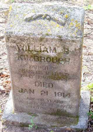 KIMBROUGH, WILLIAM B - Vernon County, Louisiana | WILLIAM B KIMBROUGH - Louisiana Gravestone Photos