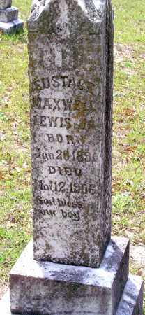 LEWIS, EUSTACE MAXWELL, JR - Vernon County, Louisiana | EUSTACE MAXWELL, JR LEWIS - Louisiana Gravestone Photos