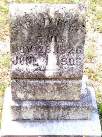 KNIGHT LEWIS, SARAH - Vernon County, Louisiana | SARAH KNIGHT LEWIS - Louisiana Gravestone Photos
