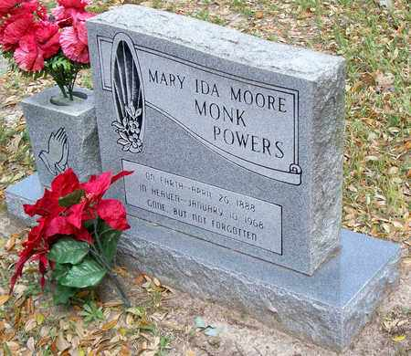 MONK, MARY IDA - Vernon County, Louisiana   MARY IDA MONK - Louisiana Gravestone Photos