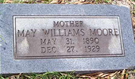 WILLIAMS MOORE, MAY - Vernon County, Louisiana | MAY WILLIAMS MOORE - Louisiana Gravestone Photos
