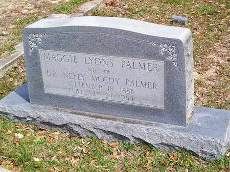 LYONS PALMER, MAGGIE - Vernon County, Louisiana | MAGGIE LYONS PALMER - Louisiana Gravestone Photos