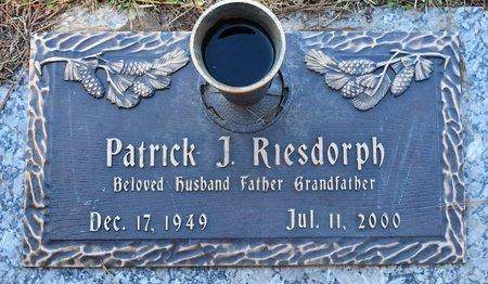 RIESDORPH, PATRICK J - Vernon County, Louisiana | PATRICK J RIESDORPH - Louisiana Gravestone Photos