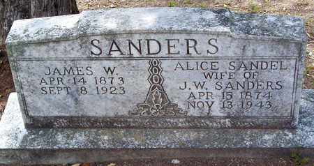 SANDERS, ALICE - Vernon County, Louisiana | ALICE SANDERS - Louisiana Gravestone Photos