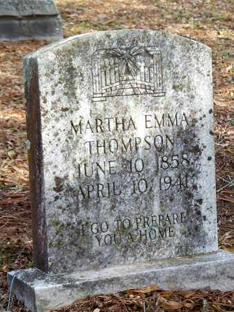 THOMPSON, MARTHA EMMA - Vernon County, Louisiana | MARTHA EMMA THOMPSON - Louisiana Gravestone Photos