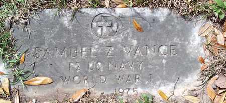 VANCE, SAMUEL Z (VETERAN WWI) - Vernon County, Louisiana | SAMUEL Z (VETERAN WWI) VANCE - Louisiana Gravestone Photos