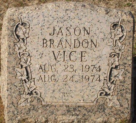 VICE, JASON BRANDON - Vernon County, Louisiana | JASON BRANDON VICE - Louisiana Gravestone Photos