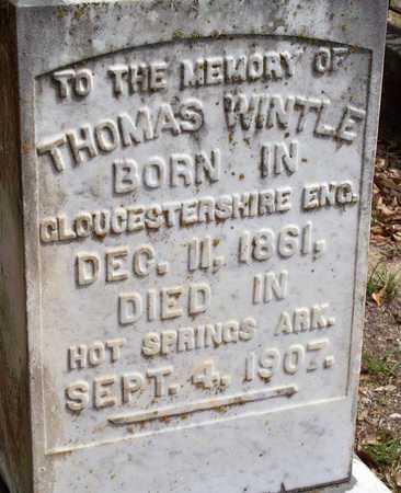WINTLE, THOMAS (CLOSEUP) - Vernon County, Louisiana | THOMAS (CLOSEUP) WINTLE - Louisiana Gravestone Photos