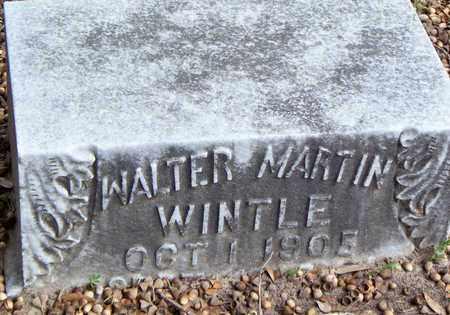 WINTLE, WALTER MARTIN - Vernon County, Louisiana   WALTER MARTIN WINTLE - Louisiana Gravestone Photos
