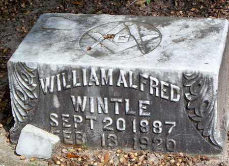 WINTLE, WILLIAM ALFRED - Vernon County, Louisiana | WILLIAM ALFRED WINTLE - Louisiana Gravestone Photos