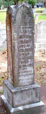 KNIGHT WORD, NANCY JANE - Vernon County, Louisiana | NANCY JANE KNIGHT WORD - Louisiana Gravestone Photos