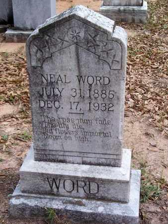 WORD, NEAL - Vernon County, Louisiana | NEAL WORD - Louisiana Gravestone Photos
