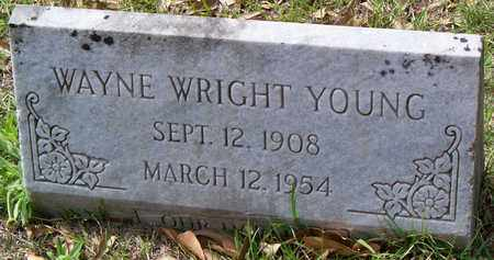 YOUNG, WAYNE WRIGHT - Vernon County, Louisiana   WAYNE WRIGHT YOUNG - Louisiana Gravestone Photos
