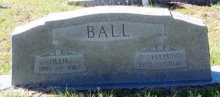 BALL, OLLIE - Washington County, Louisiana | OLLIE BALL - Louisiana Gravestone Photos