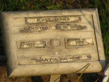 BARBER, ALVIS L - Washington County, Louisiana   ALVIS L BARBER - Louisiana Gravestone Photos