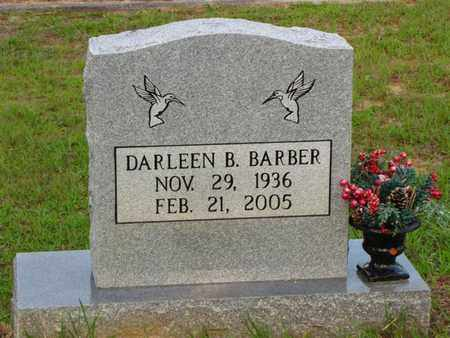 BARBER, DARLEEN B - Washington County, Louisiana | DARLEEN B BARBER - Louisiana Gravestone Photos