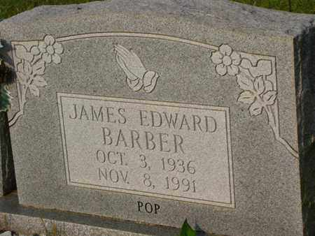 BARBER, JAMES EDWARD - Washington County, Louisiana | JAMES EDWARD BARBER - Louisiana Gravestone Photos