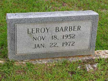 BARBER, LEROY - Washington County, Louisiana | LEROY BARBER - Louisiana Gravestone Photos