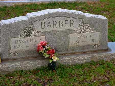 BARBER, MARSHAELL A - Washington County, Louisiana | MARSHAELL A BARBER - Louisiana Gravestone Photos