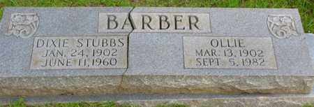 BARBER, OLLIE - Washington County, Louisiana | OLLIE BARBER - Louisiana Gravestone Photos