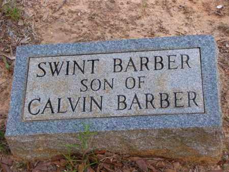 BARBER, SWINT - Washington County, Louisiana   SWINT BARBER - Louisiana Gravestone Photos