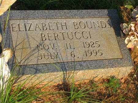 BERTUCCI, ELIZABETH - Washington County, Louisiana | ELIZABETH BERTUCCI - Louisiana Gravestone Photos