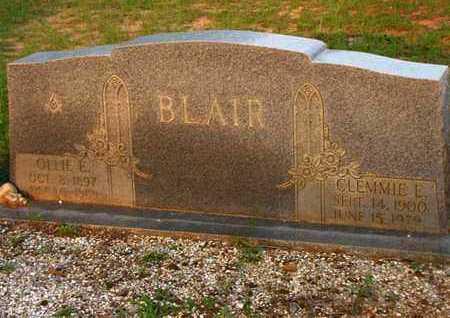 BLAIR, CLEMMIE E - Washington County, Louisiana | CLEMMIE E BLAIR - Louisiana Gravestone Photos