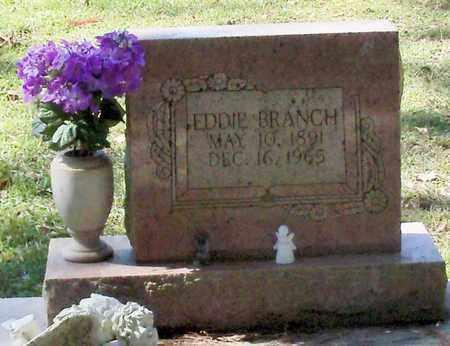 BRANCH, EDDIE - Washington County, Louisiana | EDDIE BRANCH - Louisiana Gravestone Photos