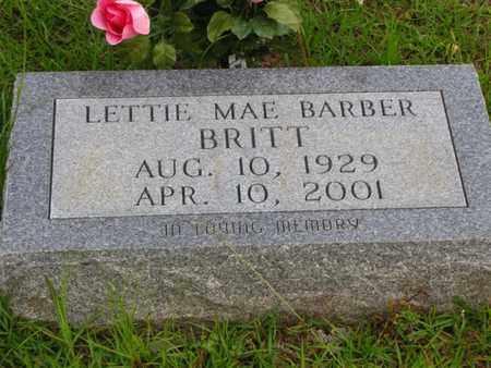 BARBER BRITT, LETTIE MAE BRYANT - Washington County, Louisiana | LETTIE MAE BRYANT BARBER BRITT - Louisiana Gravestone Photos