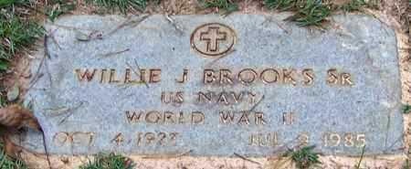 BROOKS, WILLIE J, SR   (VETERAN WWII) - Washington County, Louisiana | WILLIE J, SR   (VETERAN WWII) BROOKS - Louisiana Gravestone Photos