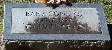 CRAIN, INFANT TWIN SONS - Washington County, Louisiana   INFANT TWIN SONS CRAIN - Louisiana Gravestone Photos