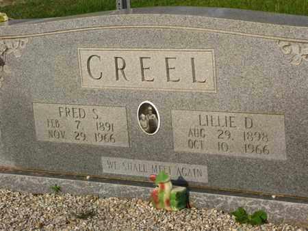 CREEL, LILLIE D - Washington County, Louisiana | LILLIE D CREEL - Louisiana Gravestone Photos