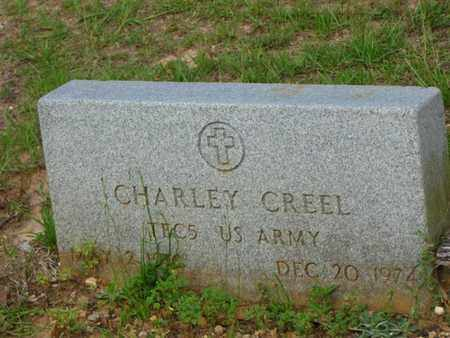 CREEL, CHARLEY  (VETERAN) - Washington County, Louisiana | CHARLEY  (VETERAN) CREEL - Louisiana Gravestone Photos