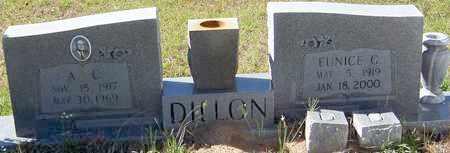 DILLON, EUNICE - Washington County, Louisiana | EUNICE DILLON - Louisiana Gravestone Photos