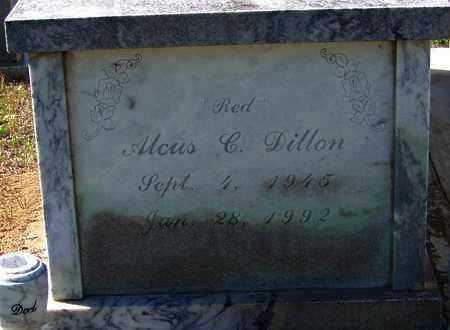"DILLON, ALCUS C  ""RED"" - Washington County, Louisiana 