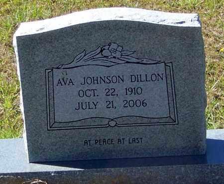 JOHNSON DILLON, AVA - Washington County, Louisiana   AVA JOHNSON DILLON - Louisiana Gravestone Photos