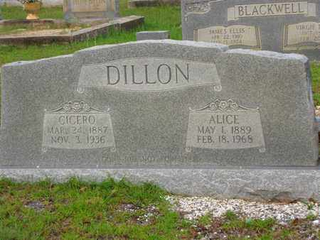 DILLON, ALICE - Washington County, Louisiana | ALICE DILLON - Louisiana Gravestone Photos