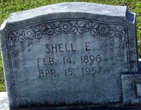 DILLON (CLOSE UP), SHELL E - Washington County, Louisiana   SHELL E DILLON (CLOSE UP) - Louisiana Gravestone Photos