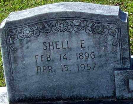 DILLON  , SHELL E  (CLOSEUP) - Washington County, Louisiana | SHELL E  (CLOSEUP) DILLON   - Louisiana Gravestone Photos